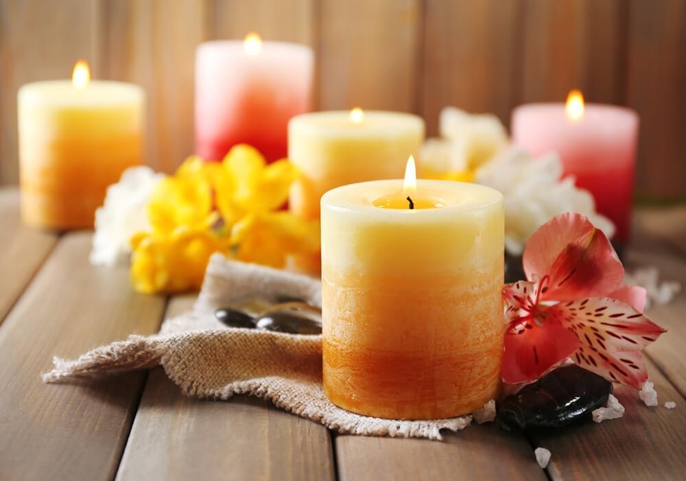 Любовный заговор на церковные свечи