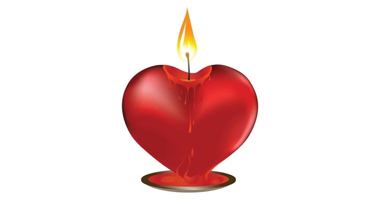 Обряд на две скрученные свечи на возврат любимого